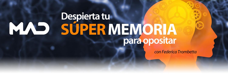Curso Despierta tu Súper Memoria para Opositar